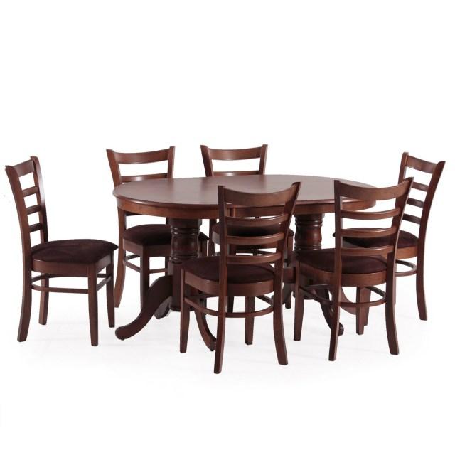 Outlet : Juego de comedor con 6 sillas